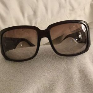 "Fendi Sunglasses with multi colored ""F's"" FS 456"